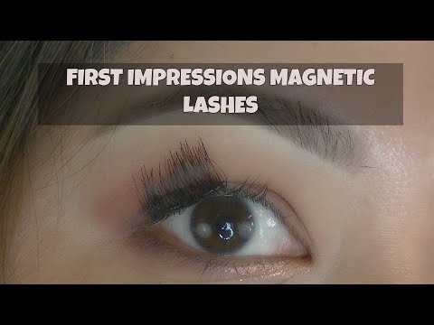 85d9a1960eb Dual Magnetic False Eyelashes | First Impressions| FAIL!