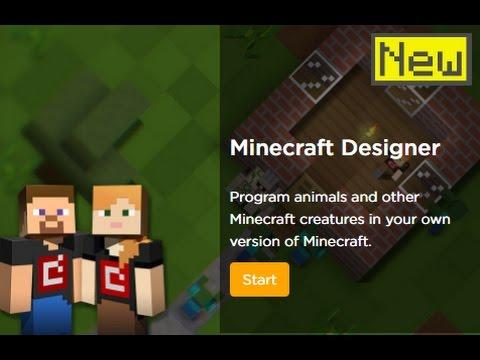 Code.org - Minecraft Hour of Code Designer