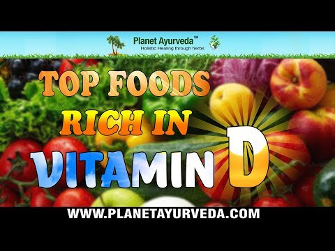 vitamin d rich foods list pdf