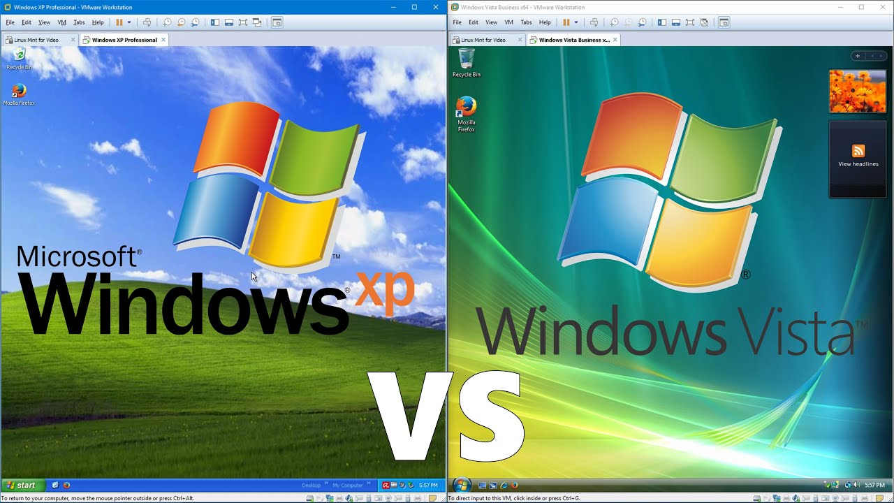 Peru Vs New Zealand >> Comparing Windows XP to Windows Vista | Doovi