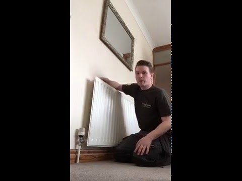 How to remove an air lock in a radiator or central heating system ...