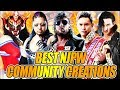 TOP 10 NJPW MOST REALISTIC CREATED WRESTLERS IN WWE 2K19 - COMMUNITY CREATIONS