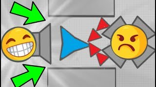 Diep.io FUNNY TRAPPING TEAMS IN MAZE MODE // Diepio Funny Moments FT WORMATE.IO