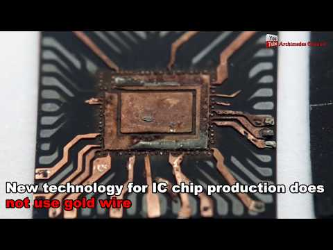 BTC ASIC Bitcoin Mining Old Obsolete IC Chip Gold Recycle. Bitcoin Miner Circuit Chips Recycling.