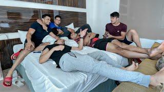 HOTEL ROOM VIBESS!!   MuscleBlaze Probiotic Muesli