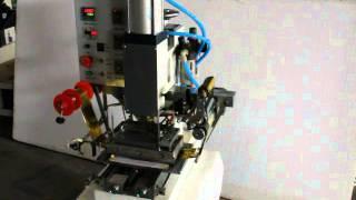 WT 73  desktop pneumatic hot stamping machine