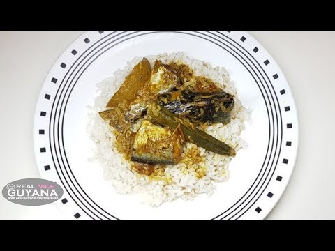 Guyana Catfish Curry with Mango and Ochroes Video Recipe