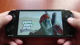 Grand Theft Auto: San Andreas на Игровом смартфоне Snail MUCH 78P01