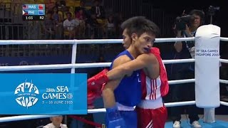 Boxing (day 1) Men's Flyweight (49kg-52kg): Bout 14  | 28th Sea Games Singapore 2015