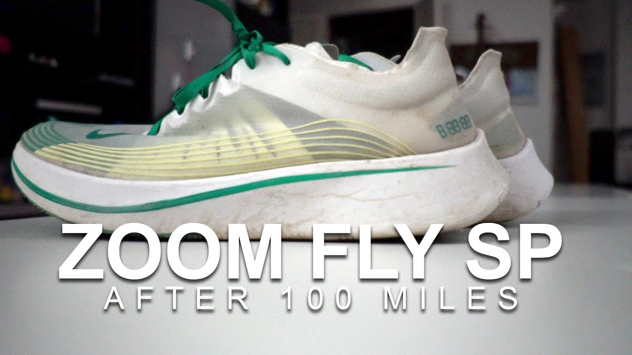 34882bc6aaa3 Nike Zoom Fly SP After 100 Miles - YouTube