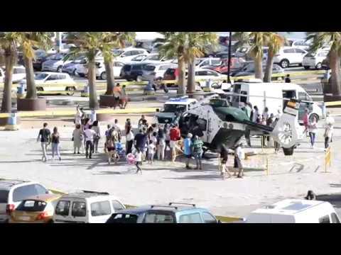 📺 #EXPOSICIÓN La Guardia Civil enseña sus medios terrestres, navales y aéreos a la ciudadanía