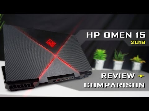 HP Omen 15 2018 Gaming Laptop Review & Comparison / i7-8750H, GTX 1060, 144Hz (detailed)