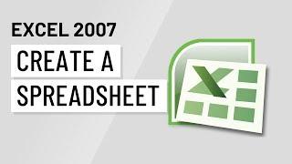 Excel 2007: إنشاء جدول
