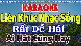 KARAOKE Liên Khúc Nhạc Sống AI HÁT CŨNG HAY - Nhạc Sống Cha Cha Cha Karaoke