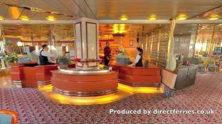 Onboard Isle of Inishmore ferry with Irish Ferries