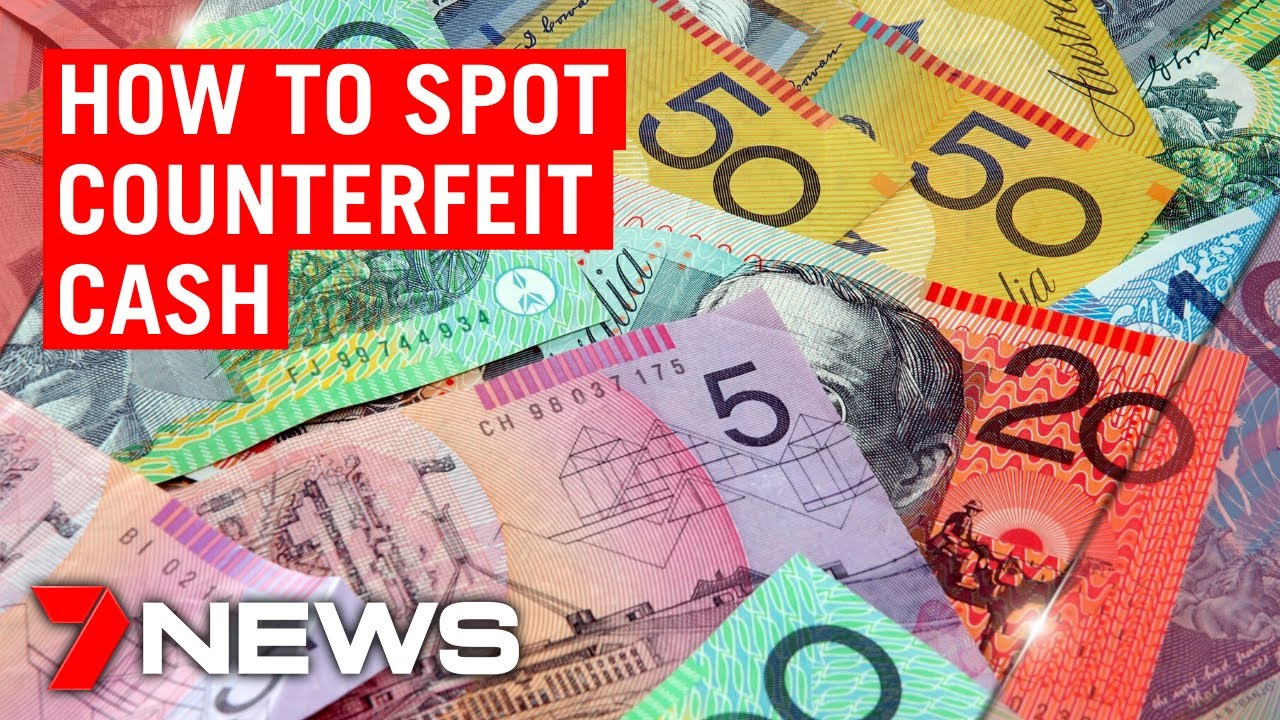 Counterfeit cash on the rise   7NEWS
