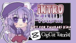 How To Make An Intro Using Capcut Gacha Club Tutorial Making Intro For Yuukari Kira Youtube