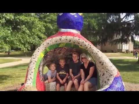 Laumeier Sculpture Park with Uncle Glen