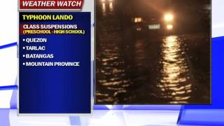 Parts of Bulacan flooded due to typhoon
