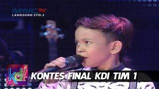 """Jojo feat Haikal, Afan """" Pangeran Dangdut """"  - Kontes Final KDI 2015 (15/5)"""