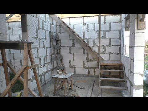 Лестница на второй этаж (черновая) своими руками