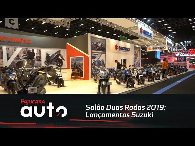 Salão Duas Rodas 2019: LançamentosSuzuki
