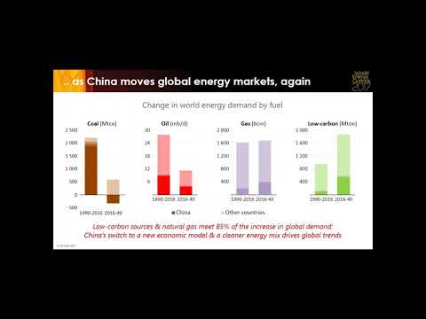 Webinar: New Policies Scenario, World Energy Outlook 2017