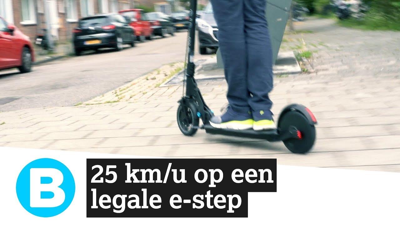 Download Deze elektrische step is wél legaal: ideaal voor woon-werkverkeer?