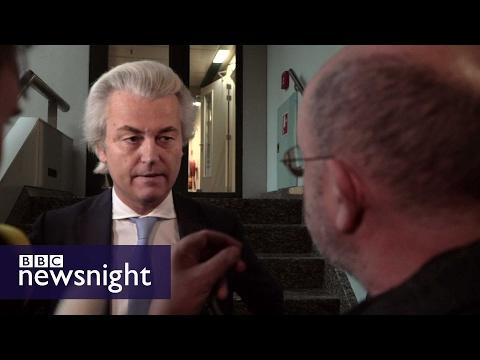 John Sweeney meets Geert Wilders - BBC Newsnight