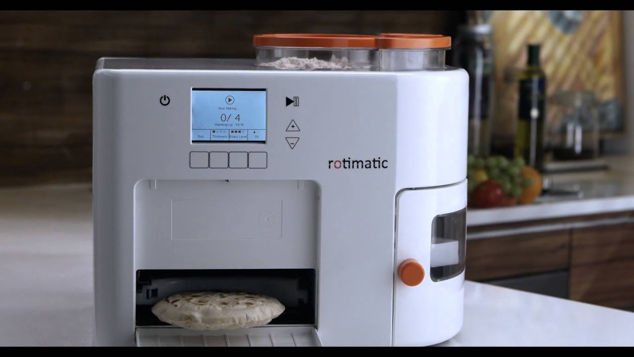 Rotimatic  Fresh Rotis in Minutes  Order Now  YouTube