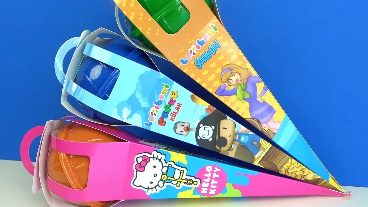 Pepee Scooby Doo Hello Kitty Lolliboni Dev Dondurma Kulahi Ve