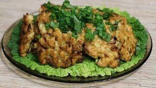 Куриные котлеты рецепт (chicken cutlets)