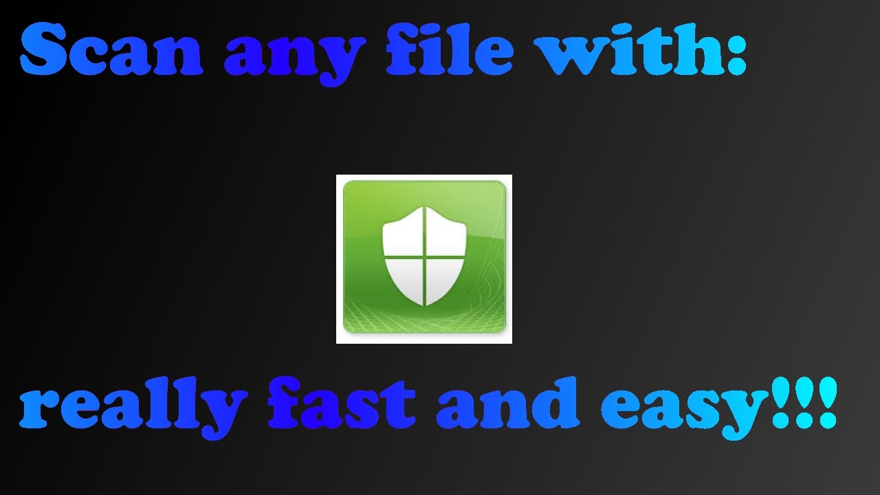 How to scan any file with System Center Endpoint Protection Windows 7