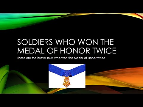 Double Medal of Honor Winners