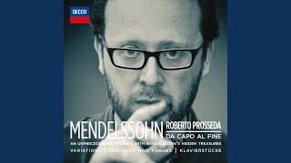 Mendelssohn: 7 Charakterstücke, Op. 7 - No. 6 in E Minor, MWV U 61
