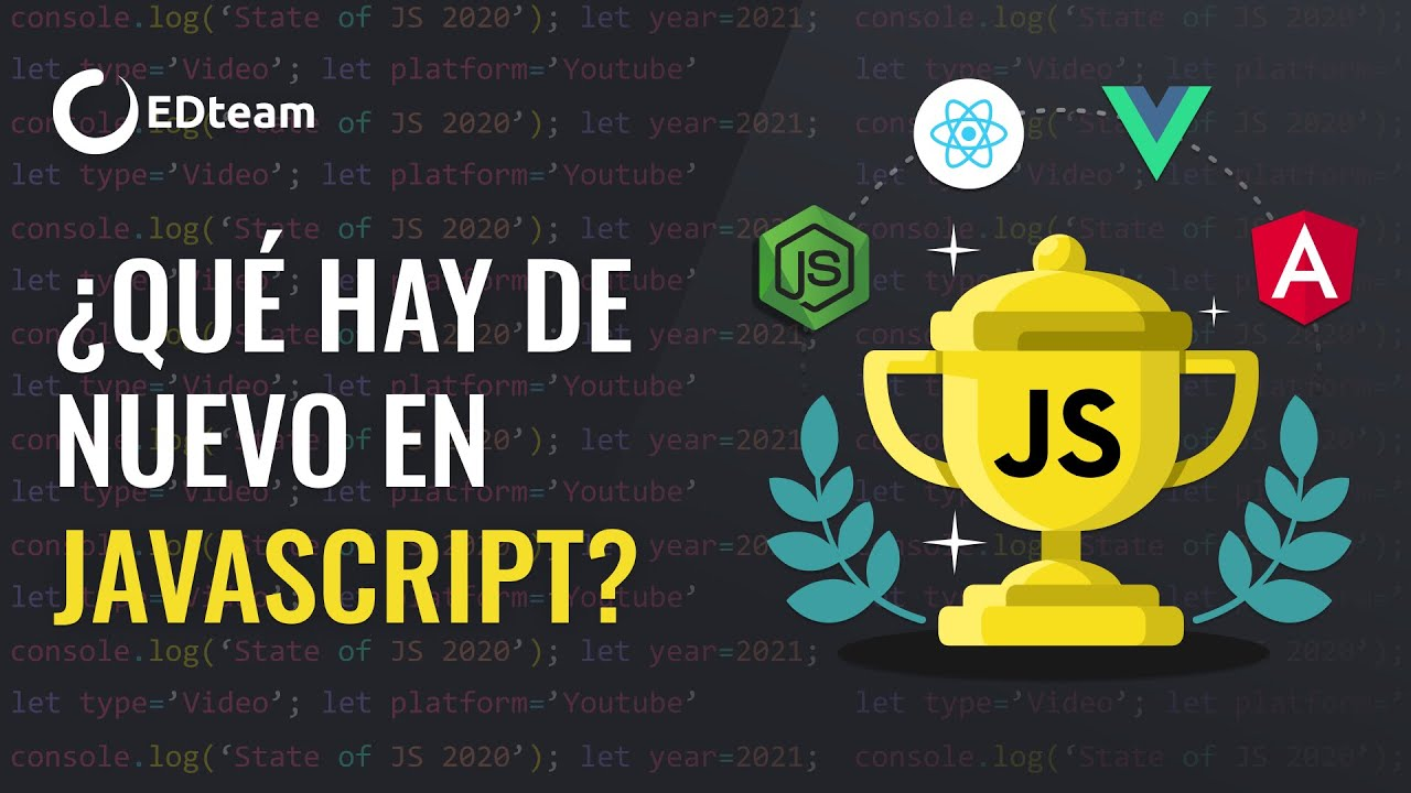 ¿Cómo programar en JavaScript en 2021?