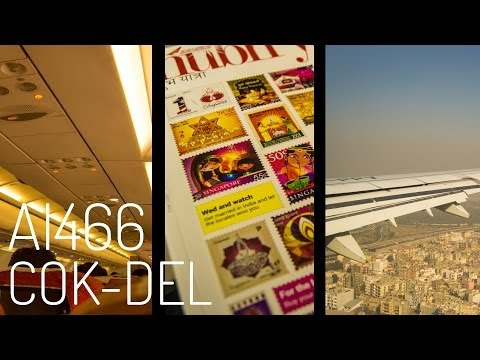 Air India AI466 : Flying from Kochi to New Delhi