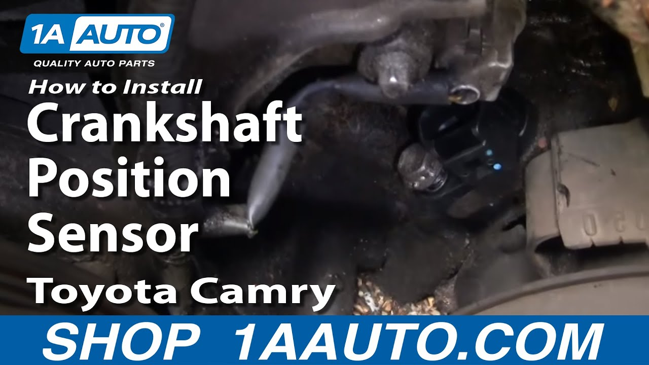how to install replace crankshaft position sensor toyota camry 3 0l 1999 toyota avalon how to install replace crankshaft position sensor toyota camry 3 0l v6 1aauto com youtube