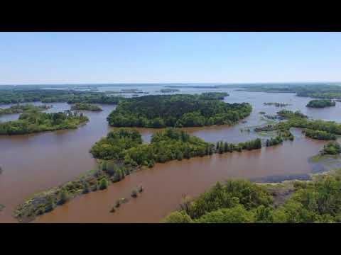 Exploring Kickapoo Creek via Drone west of Chandler, TX