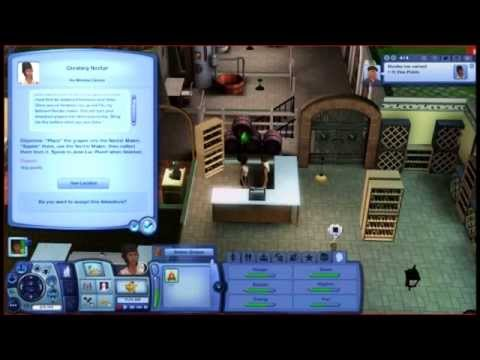 sims 3 world adventures nectar making let 39 s play youtube