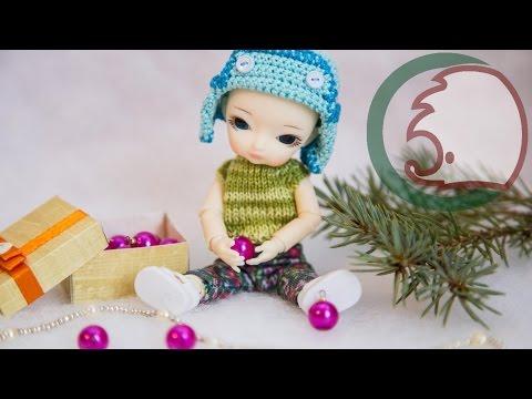 как сделать елку для куклы