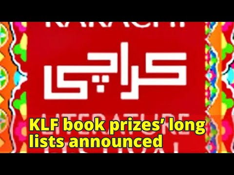 KLF book prizes' long lists announced