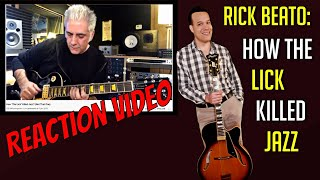 Re: Rick Beato Video - How The Lick Killed Jazz