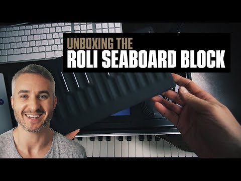 Unboxing The Roli Seaboard Block