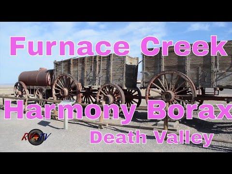 RV Travel...Furnace Creek...Death Valley...Harmony Borax Works...RVerTV