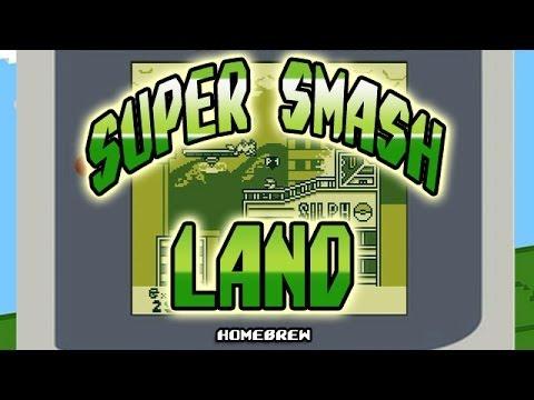 Super Smash Land (Game Boy Smash Bros!)