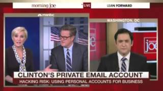 Mika on Hilalry Email Story: Anything Clintons Do Is Accepted as Okay