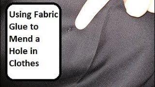 How to Use Fabric Glue to Mend a Hole in Pants