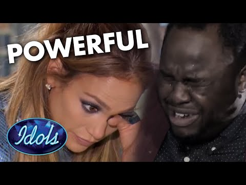 Jennifer Lopez CRIES After Homeless Man Audition's For American Idol | Idols Global