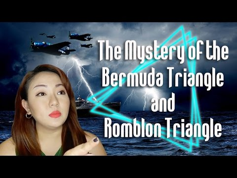 The Mystery of the Bermuda Triangle and Romblon Triangle